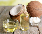 Two types of coconut oil