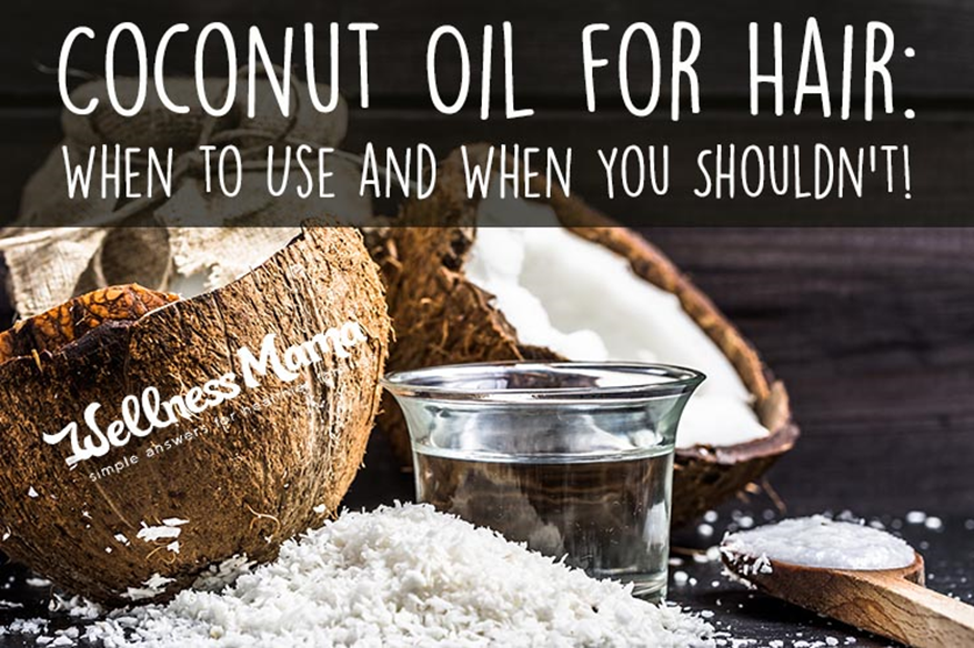 Coconut Oil For Hair: Good or Bad?